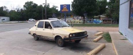 Dacia 1410 din 1985 la plimbare prin Texas, Statele Unite