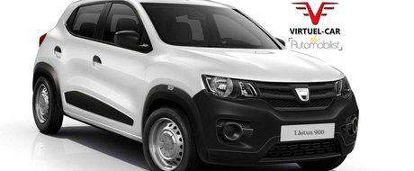 Dacia 900 (Lastun) ar putea fi numele celei mai ieftine masini europene