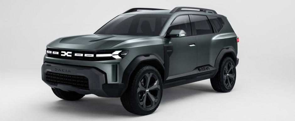 Dacia a lansat masina asteptata de toata lumea. Cum arata Bigster, cel mai mare SUV din gama romanilor