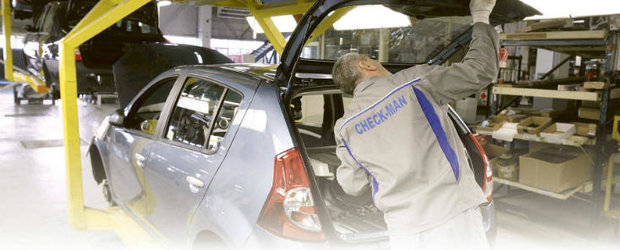 Dacia a oprit productia de masini cu 3 zile mai devreme decat planificase initial