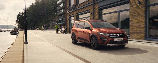 Dacia a prezentat oficial modelul care inlocuieste Lodgy si Logan MCV. Fa cunostinta cu primul Jogger din istorie!
