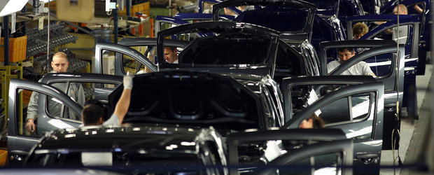 Dacia a primit ajutor de la stat pentru a instala roboti pe linia de productie