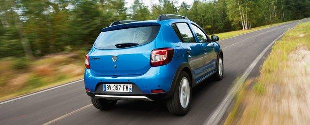 Dacia a produs 100.000 de exemplare de Sandero si Sandero Stepway