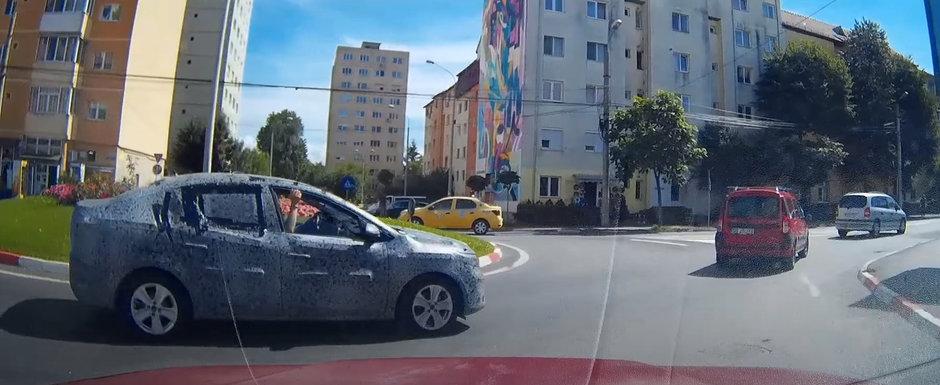 Dacia a scos in teste, pe strazile din Romania, noul Logan 3. Un prototip a fost filmat recent in Sibiu