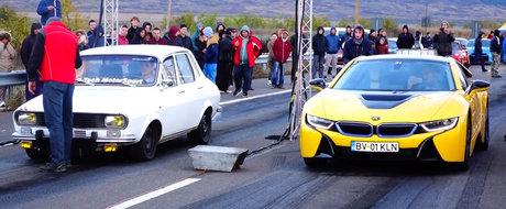 Dacia ASTA veche era gata-gata sa bata un BMW nou-nout de peste 130.000 euro