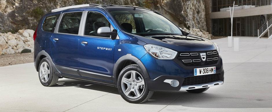 Dacia confirma inlocuirea lui Lodgy cu un nou crossover. Grand Duster cu 7 locuri revine in scena