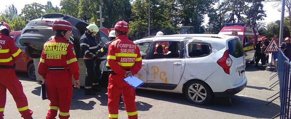 Dacia contribuie la salvarea de vieti: 40 de automobile pentru simularile IGSU