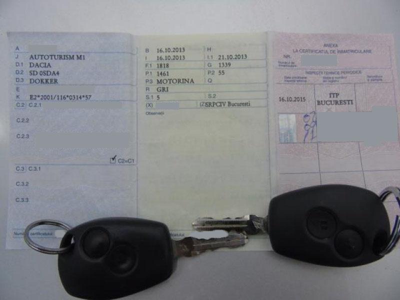 Dacia Dokker 1.5 dCi Laureate 75 CP 2013