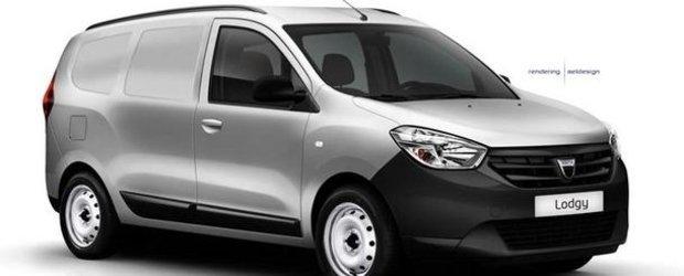 Dacia Dokker, adica un Lodgy de marfa,  va costa 10.000 de Euro