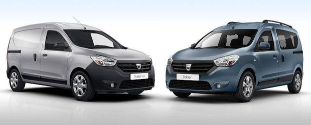 Dacia Dokker si Dokker Van, doua noi modele de la Dacia