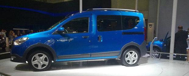 Dacia Dokker Stepway s-a lansat la Istanbul