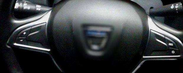 Dacia Duster 2017: avem SINGURA poza reala cu interiorul noului SUV romanesc!