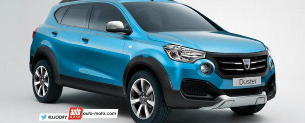 Dacia Duster 2017: cum va arata noul SUV romanesc?