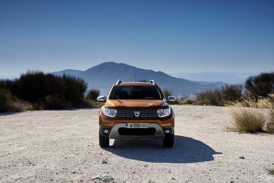 Dacia Duster 2018 poze