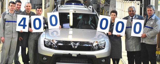 Dacia Duster a ajuns la modelul cu numarul 400.000