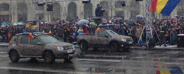 Dacia Duster Army, masina romaneasca dedicata armatelor europene