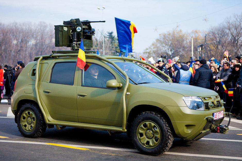 Dacia Duster blindata