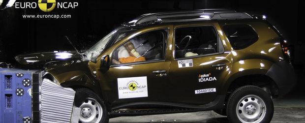 Dacia Duster, codasa testelor de siguranta in 2011