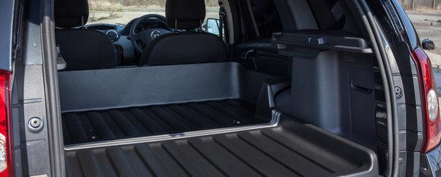 Dacia Duster Commercial ar putea fi masina ideala pentru transportul de marfa