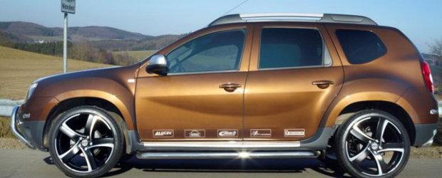 Dacia Duster cu jante de 20 inch exista! Pachet de tuning pentru Duster de la Eibach