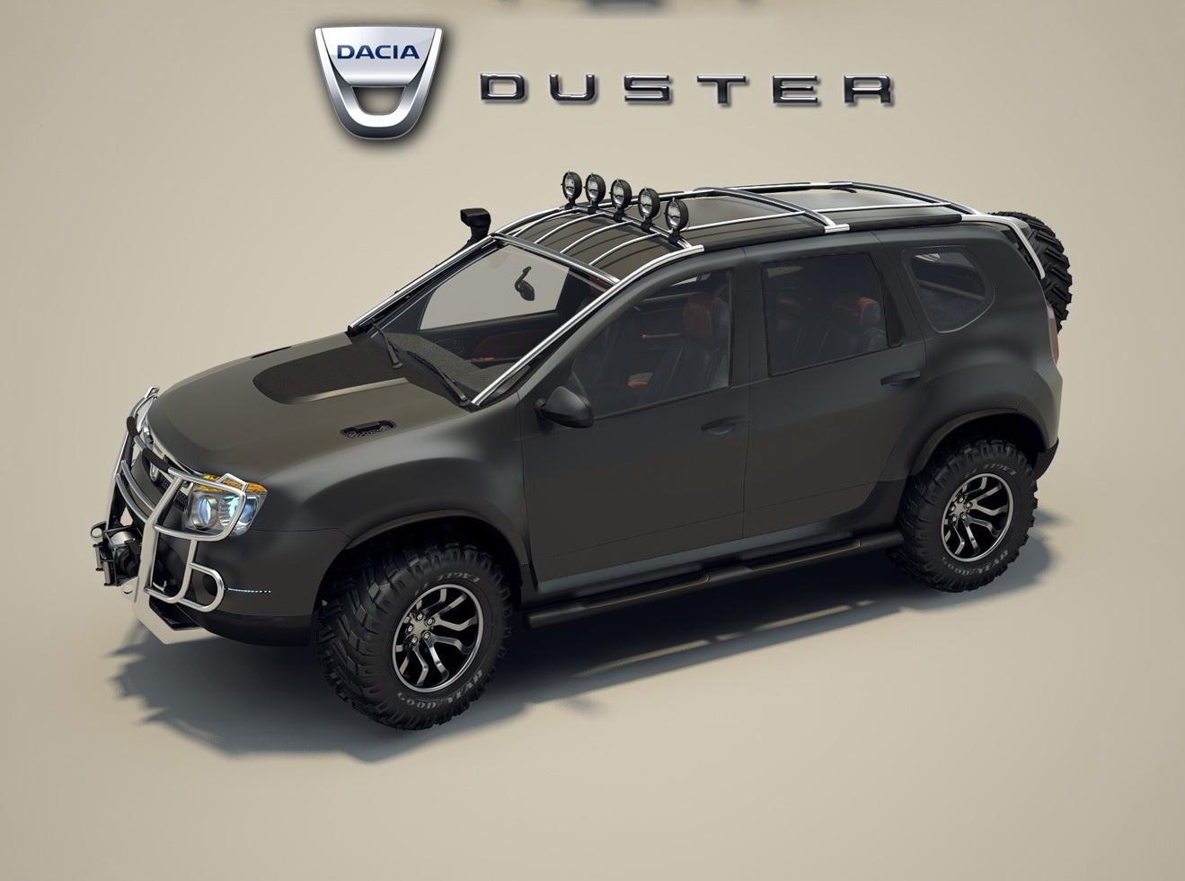 Poze Virtual Tuning Dacia Duster De Teren 235495