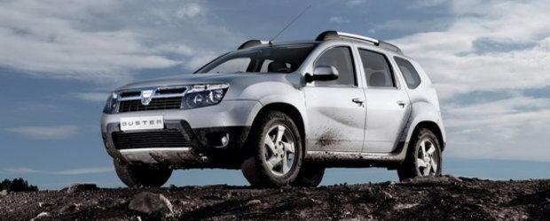 """Dacia Duster este """"Masina Anului 2011 in Romania"""""""