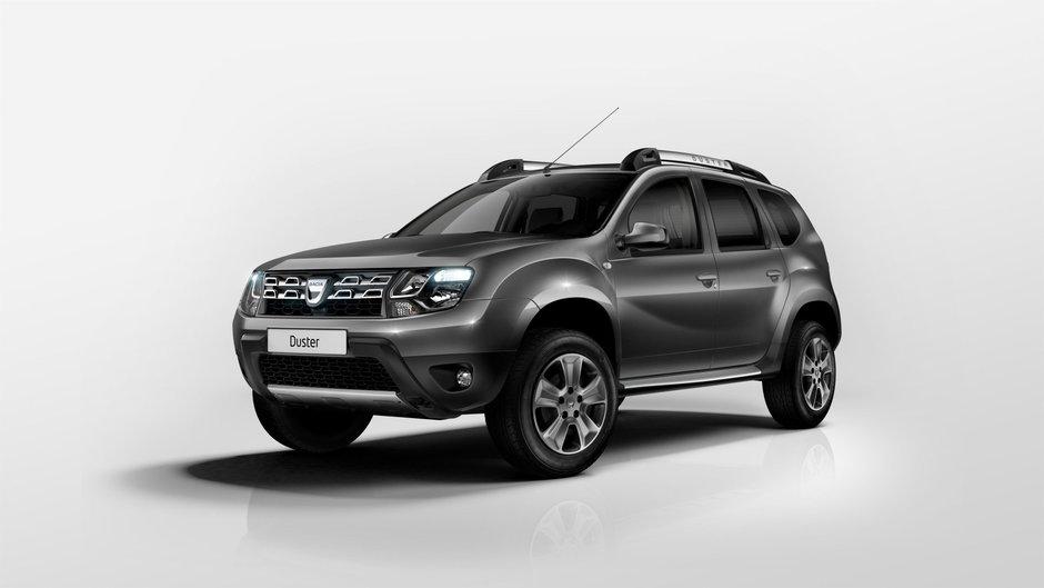Dacia Duster Facelift - Primele poze