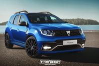 Dacia Duster GT - Ipoteza de design