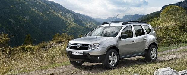 DACIA DUSTER HIBRID - Dacia Duster se vinde si in varianta pe GPL