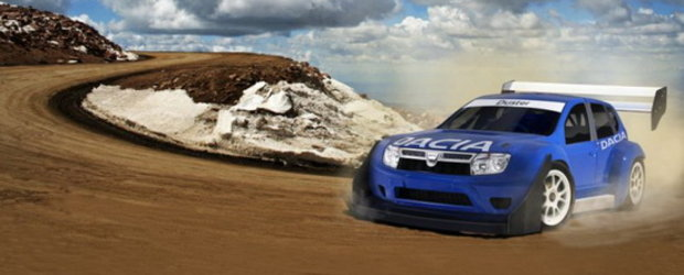 Dacia Duster in competitia Pikes Peak International Hill Climb
