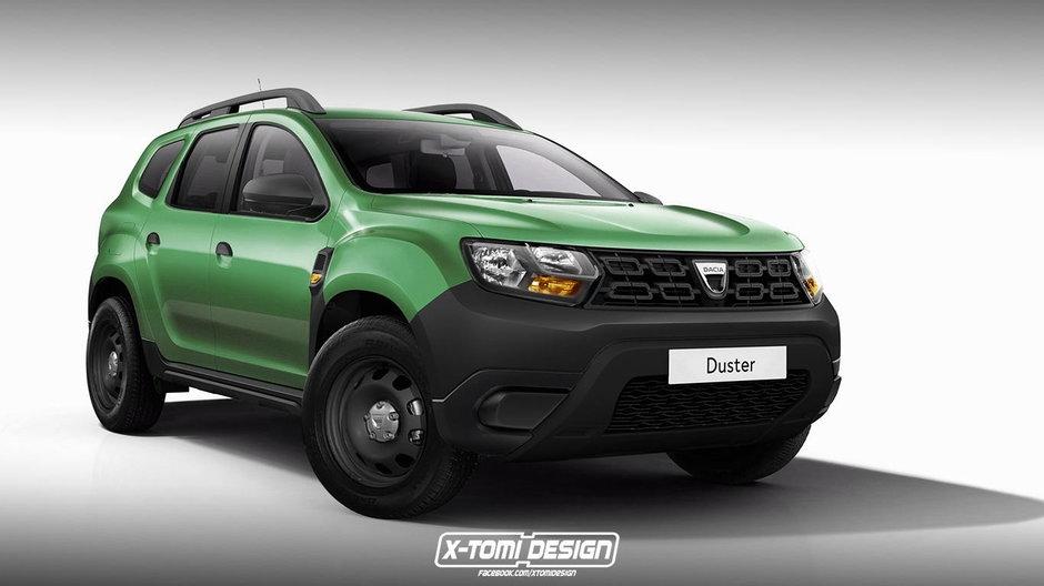 Dacia Duster in versiunea de baza