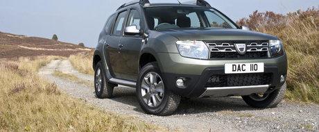 Dacia Duster isi intampina clientii britanici cu un nou 1.6 de 115 CP
