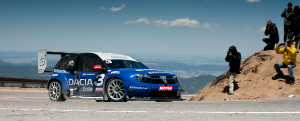 Dacia Duster No Limit - De la Pikes Peak direct pe monitorul tau!