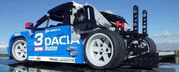 Dacia Duster NO LIMIT din LEGO - Cand pasiunea nu cunoaste limite
