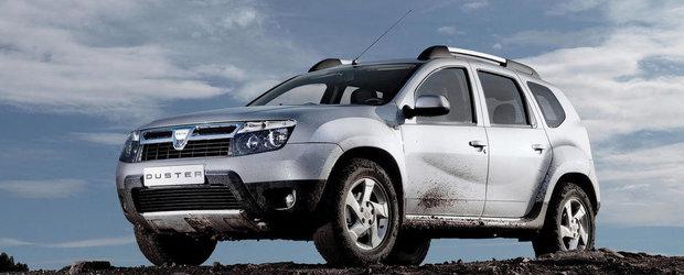 Dacia Duster, pe locul 5 in topul preferintelor rusilor