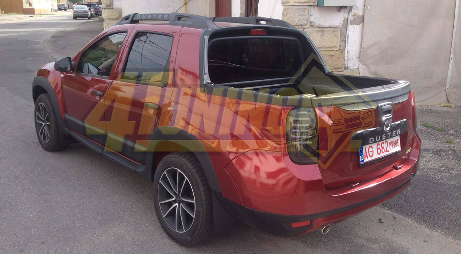 dacia duster pick up double cab galerie foto in exclusivitate. Black Bedroom Furniture Sets. Home Design Ideas