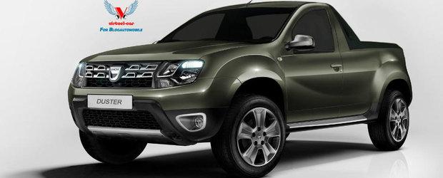 Dacia Duster Pick-Up va fi fabricata si vanduta in America de Sud