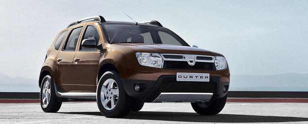Dacia Duster, premiata in Marea Britanie