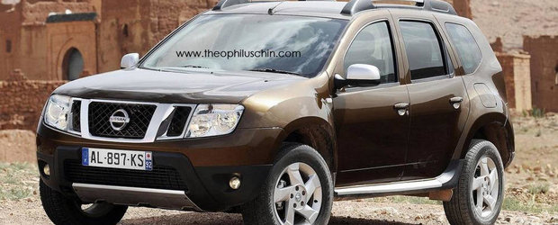 Dacia Duster va fi vanduta in India sub numele de Nissan Terrano