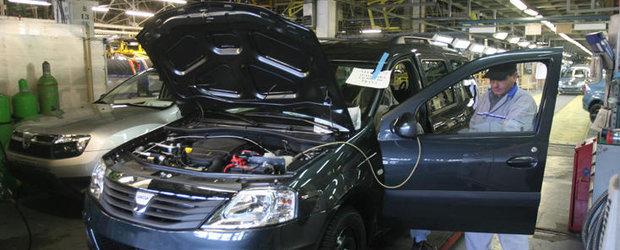 Dacia face angajari la uzina de la Mioveni