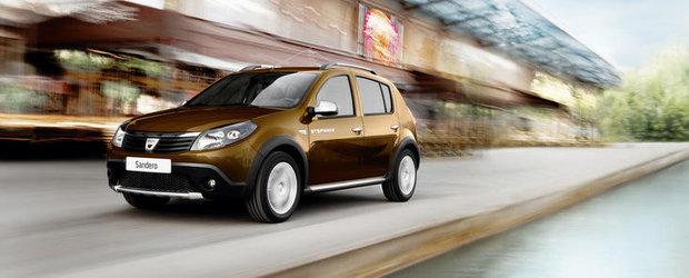 Dacia lanseaza in Romania Sandero Stepway2. Vezi cat costa noul model!