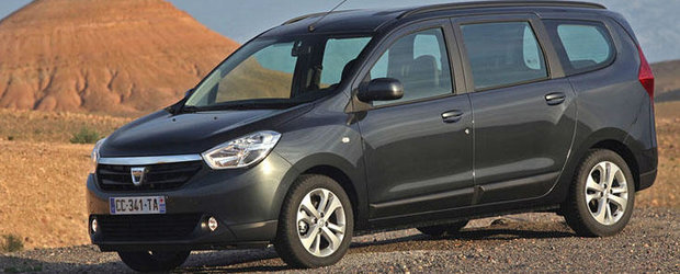 Dacia Lodgy a primit premiul L'Argus 2013