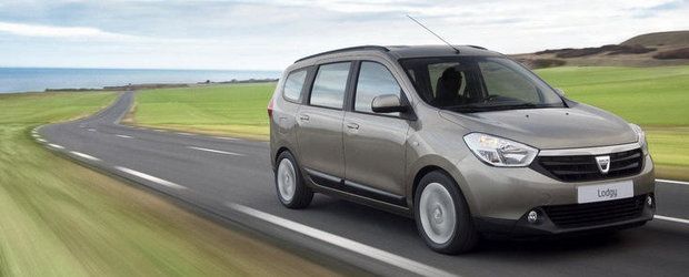 Dacia Lodgy costa in Franta 9.900 euro