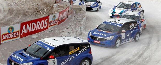 Dacia Lodgy Glace incepe anul cu doua locuri pe podium
