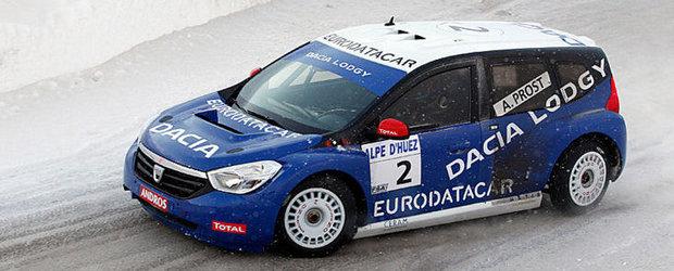 Dacia Lodgy 'Glace' sfideaza furtuna si obtine o noua victorie