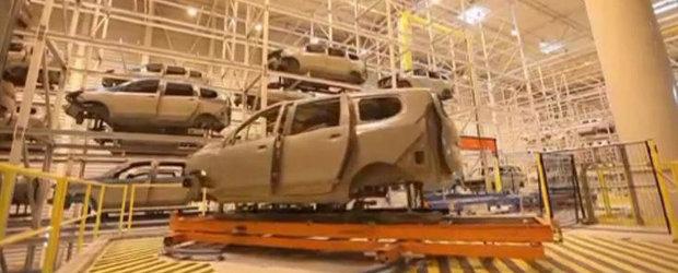 Dacia Lodgy - Iata cum se fabrica monovolumul romanesc