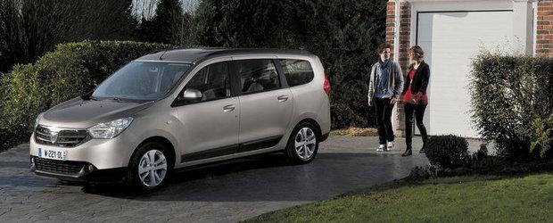 Dacia Lodgy intra in cursa pentru concursul Car of The Year 2013