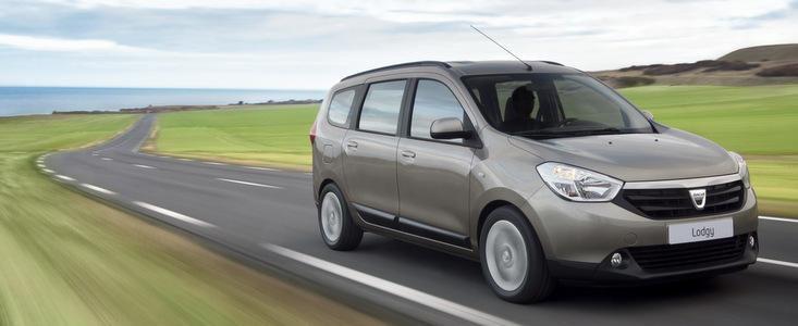 Dacia Lodgy, nominalizata la titlul 'Car of The Year 2013'