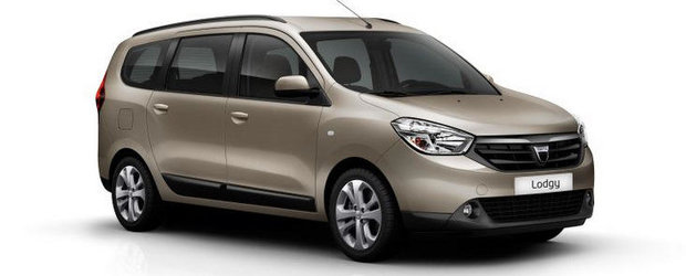Dacia Lodgy - Primele detalii si poze oficiale!