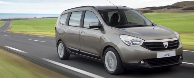 Dacia Lodgy se vinde in Danemarca de la 17.440 de euro
